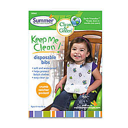 Summer® Keep Me Clean™ 20-Count Disposable Bibs