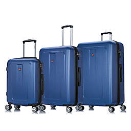 DUKAP® Crypto 3-Piece Hardside Spinner Luggage Set