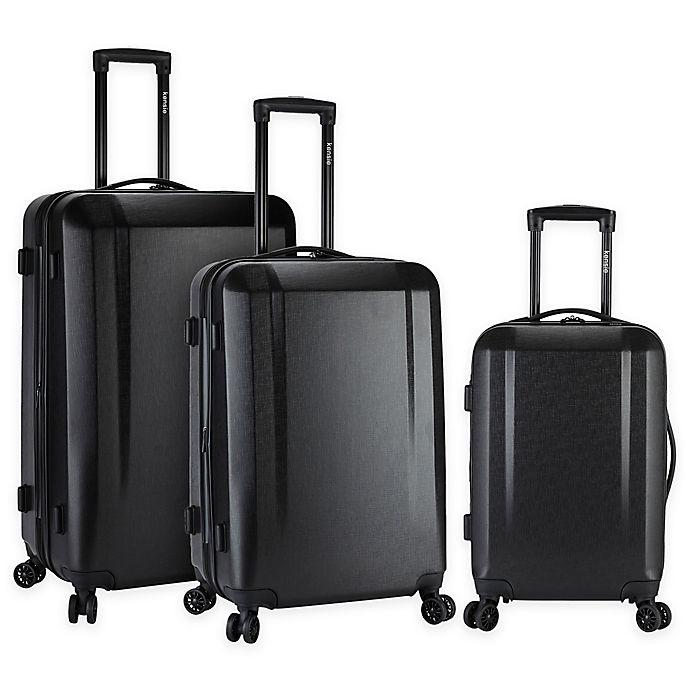 Alternate image 1 for Kensie 3-Piece Hardside Spinner Luggage Set