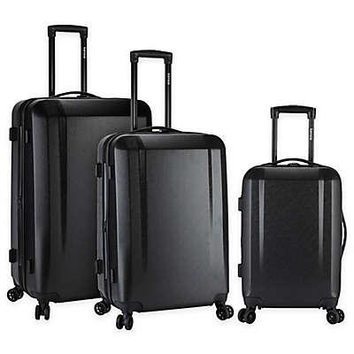 Kensie 3-Piece Hardside Spinner Luggage Set