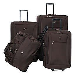 American Flyer Brooklyn 4-Piece Rolling Luggage Set