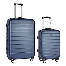 Traveler's Club® Wrangler 2-Piece Expandable Spinner Luggage Set