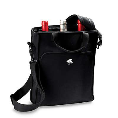 Wine Enthusiast Neoprene 3 Bottle Wine Tote Bag