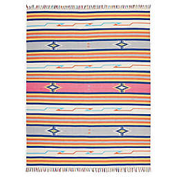 Nourison Baja Striped 8' x 10' Hand-Woven Area Rug