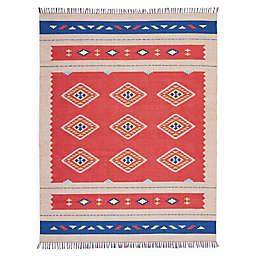 Nourison Baja Geometric 8' x 10' Hand-Woven Area Rug
