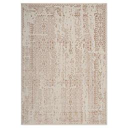 Kathy Ireland® Silver Screen Loom Woven Area Rug in Ivory/Mocha