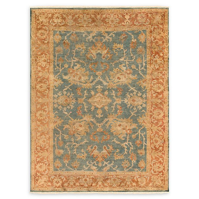 Alternate image 1 for Surya Hillcrest 8' x 11' Area Rug in Teal/Rust