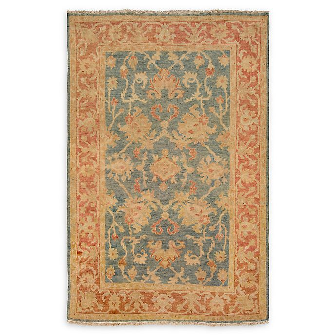 Alternate image 1 for Surya Hillcrest 9'x 13' Area Rug in Teal/Rust