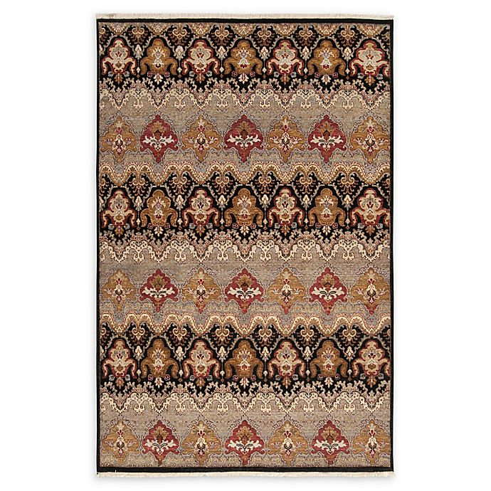 Alternate image 1 for Surya Cambridge Medallion 5'6 x 8'6 Hand Knotted Area Rug in Medium Grey