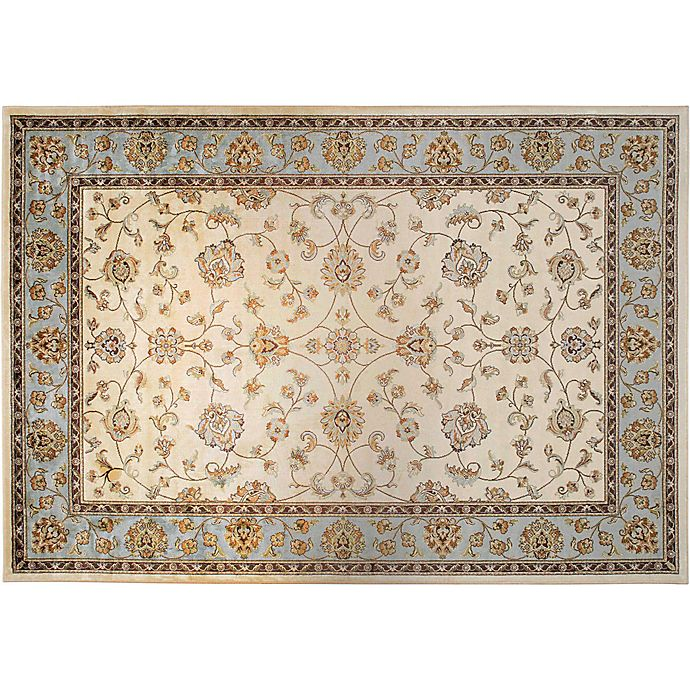 Alternate image 1 for Verona Classic Accent Rug in Ivory/Blue