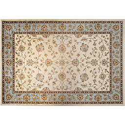 Verona Classic Accent Rug in Ivory/Blue