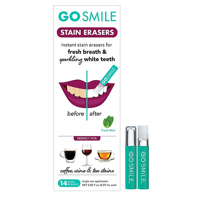 Alternate image 1 for Go Smile 14-Pack Teeth Stain Erasers