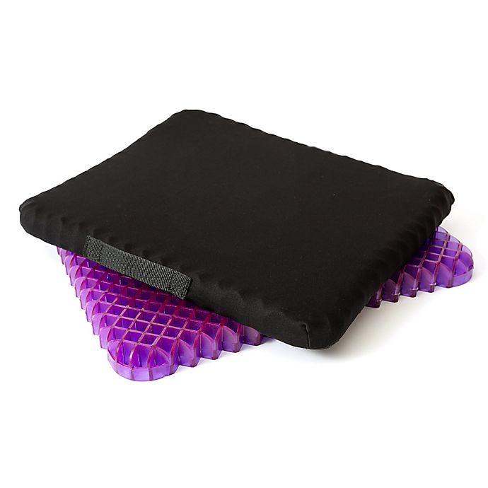 Alternate image 1 for Purple® Simply Seat Cushion in Black/Purple