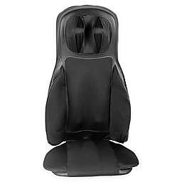Aurora Health and Beauty® Shiatsu Massage Heated Seat Cushion in Black