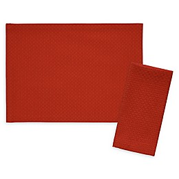 Fiesta® Maya Solid Placemat and Napkin