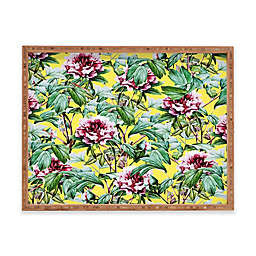 Deny Designs Yellow Flora by 83 Oranges Serving Tray Collection