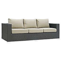 Modway Sojourn Outdoor Sofa in Sunbrella® Canvas