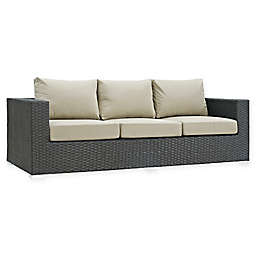 Modway Sojourn Outdoor Sofa in Sunbrella® Canvas