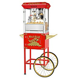 Superior Popcorn Company Hot and Fresh Popper Machine with Cart