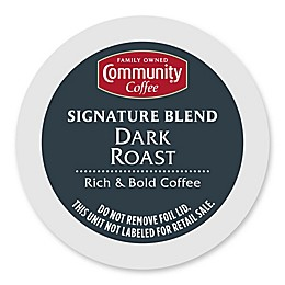 18-Count Community Coffee® Dark Roast Coffee for Single Serve Coffee Makers