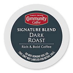 18-Count Community Coffee® Dark Roast Coffee for Single Serve Coffee Makers