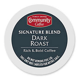 Community Coffee® Dark Roast Pods for Single Serve Coffee Makers 18-Count