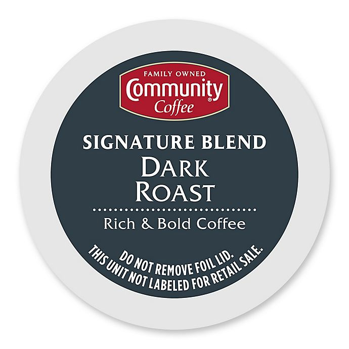Alternate image 1 for 36-Count Community Coffee® Dark Roast Coffee for Single Serve Coffee Makers
