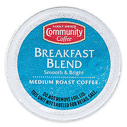 Pack 18-Count Community Coffee® Breakfast Blend for Single Serve Coffee Makers