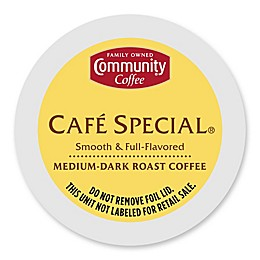 18-Count Community Coffee® Café Special® Coffee for Single Serve Coffee Makers