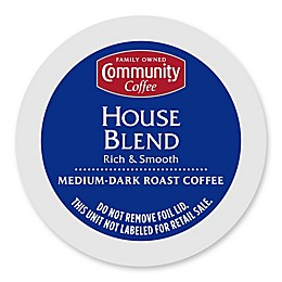 Community Coffee® House Blend Pods for Single Serve Coffee Makers 18-Count
