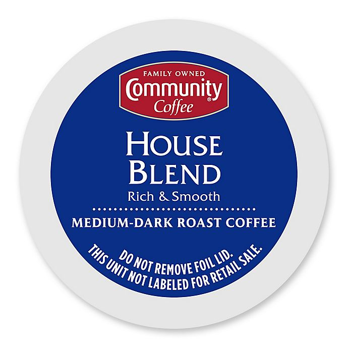 Alternate image 1 for 18-Count Community Coffee® House Blend for Single Serve Coffee Makers