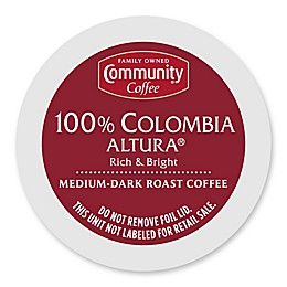 Community Coffee® 100% Colombia Altura® Pods for Single Serve Coffee Makers 18-Count