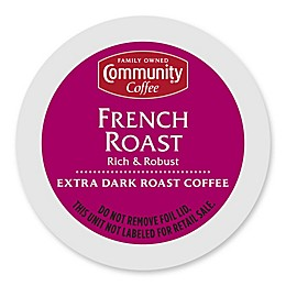 Community Coffee® French Roast Pods for Single Serve Coffee Makers 18-Count