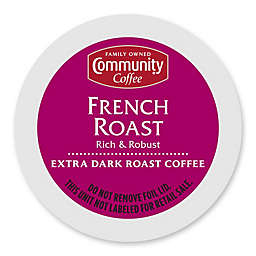 Pack 18-Count Community Coffee® French Roast for Single Serve Coffee Makers
