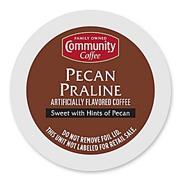 Community Coffee® Pecan Praline Coffee Pods for Single Serve Coffee Makers 18-Count
