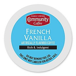 Community Coffee® French Vanilla Pods for Single Serve Coffee Makers 18-Count