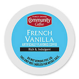 18-Count Community Coffee® French Vanilla Coffee for Single Serve Coffee Makers