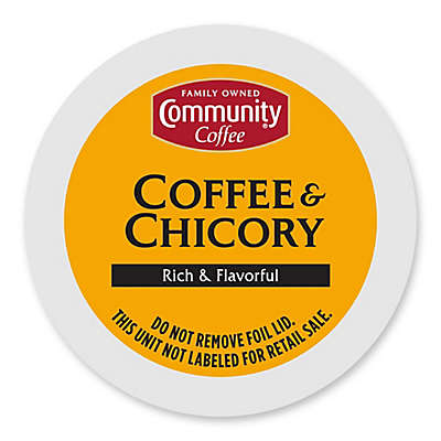 18-Count Community Coffee® Coffee & Chicory for SIngle Serve Coffee Makers