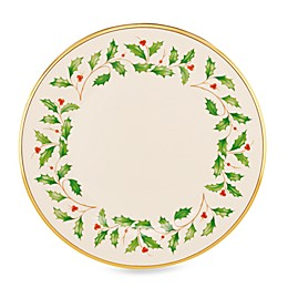 Lenox® Holiday™ Dinner Plate in White