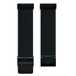 Fitbit® Versa™ Stainless Steel Mesh Band in Black