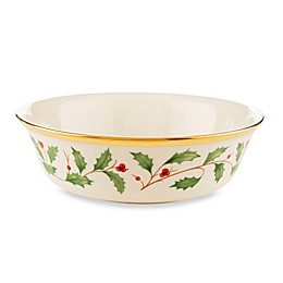 Lenox® Holiday™ All Purpose Bowl in White/Gold