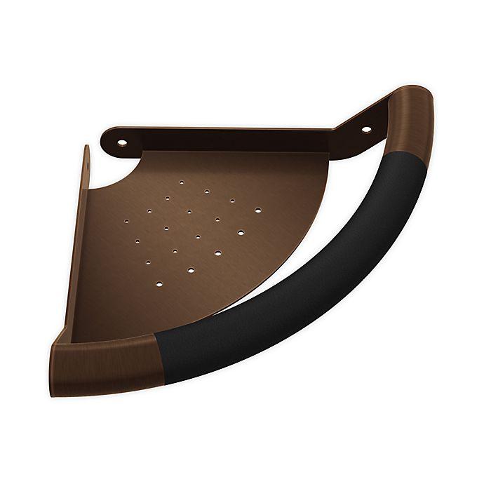 Alternate image 1 for Pulse ShowerSpas 10-Inch Ergo Corner Bar in Oil Rubbed Bronze