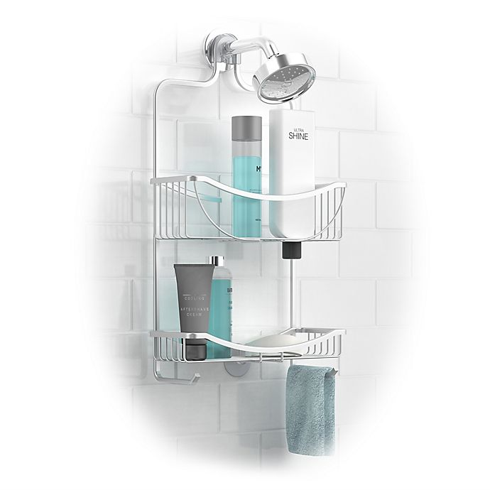 Alternate image 1 for Better Living Venus Aluminum 2-Tier Hanging Shower Caddy