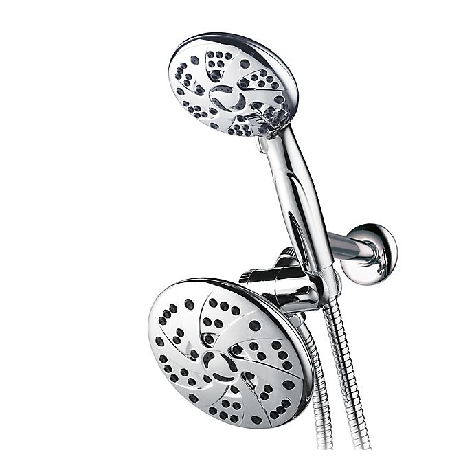 Alternate image 1 for RainSpa 3-in-1 Rainfall Combination Showerhead