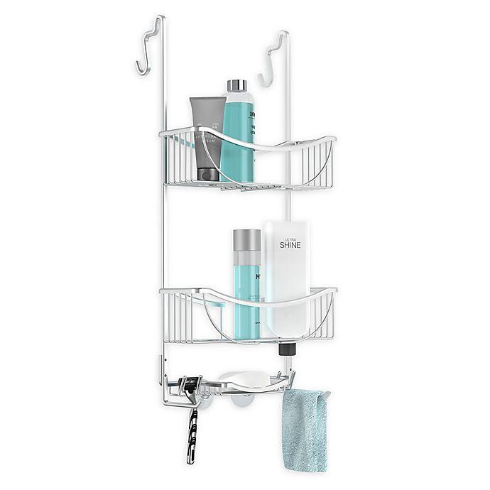Alternate image 1 for Better Living 3-Tier Aluminum Over the Door Shower Caddy