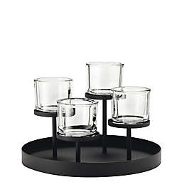 Blomus 4-Tealight Holder with Base Collection