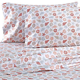 Coastal Life Shells 300-Thread-Count Sheet Collection