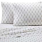 Coastal Life Pineapple 300-Thread-Count Standard Pillowcases (Set of 2)