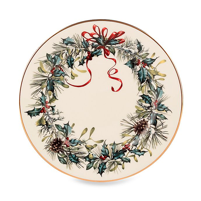Alternate image 1 for Lenox® Winter Greetings® Bread and Butter Plate