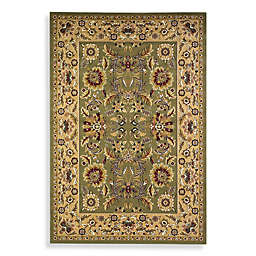 KAS Cambridge Kashan Rug in Green